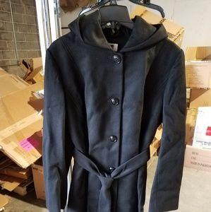 Anne Klein winter hooded coat
